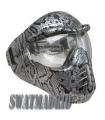 Máscara de Protección SERPIENTE PLATA